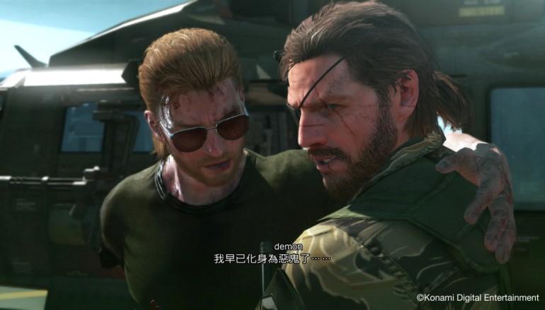 《Metal Gear Solid V:The Phantom Pain》中文化決定
