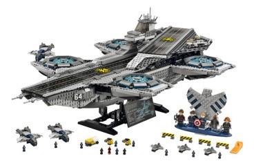 【唔食都要買】LEGO The S.H.I.E.L.D. Helicarrier 神盾局母艦可裝燈裝摩打