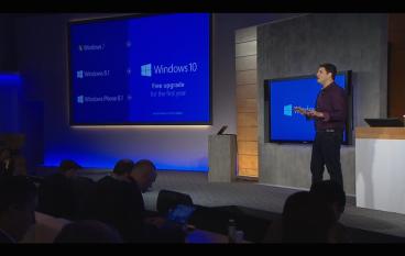 Windows 7/8.1、Windows Phone 8.1 用家免費升級 Windows 10