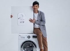 「男神」做代言:LG 首部 10 公斤衣量洗衣機登場