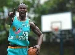 ENTERBAY 1/6 Michael Jordan @1995-96 NBA All-Star Game