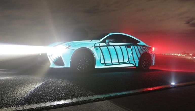 【極速傳說】Lexus 研發新車會隨司機心跳發光