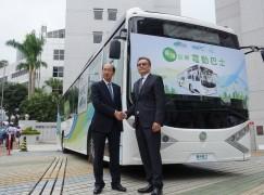 首部本地研發電動巴士公開亮相