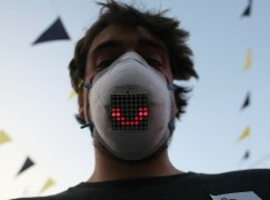 LED感應晶片 戴口罩都可以開心笑