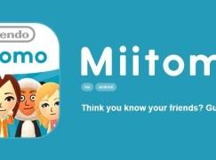 任天堂首款手機社群遊戲 Miitomo 接受登記