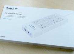 Orico 8 頭拖板兼備 5 個 2.4A USB