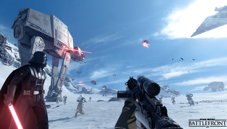 《Star Wars Battlefront》Beta 十月有得玩