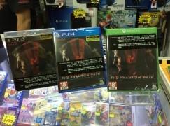 《Metal Gear Solid V》偷跑行水齊到貨
