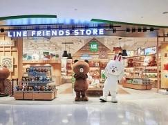 熊大兔兔襲港 LINE FRIENDS專門店進駐銅鑼灣