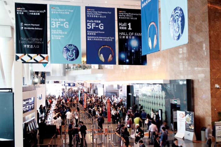 資訊科技博覽及春電展兩大展覽,互相輝映,今年吸引近9.3萬買家到場。
