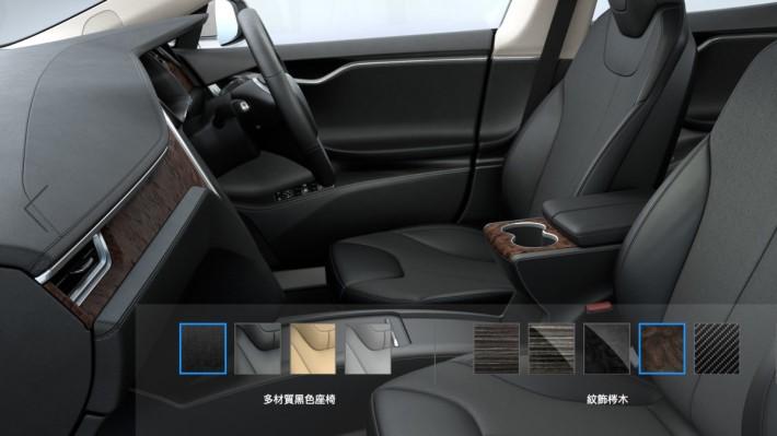 新加同時加入紋飾梣木及深調梣木兩項車廂裝飾選擇。