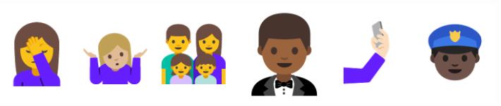 新版 Android N Emoji 全部變返做人樣。