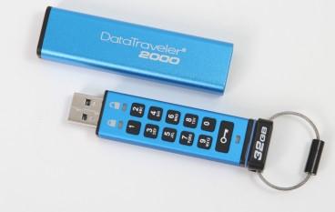 Kingston 數字加密 USB 手指有幾堅?
