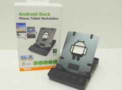 Android Dock 將手機當電腦!