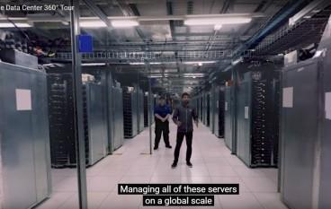 Google製作VR 公開數據中心面貌