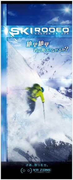 《SKIRODEO》:斜坡滑雪遊戲(700 日圓)