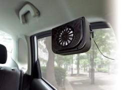車主恩物! 太陽能車廂散熱風扇