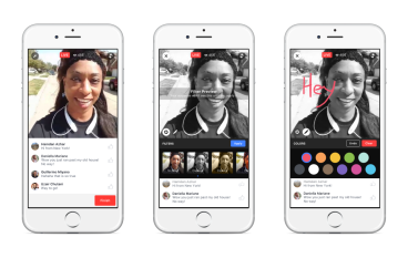 Facebook Live 再進化實時 Filter+ 畫公仔