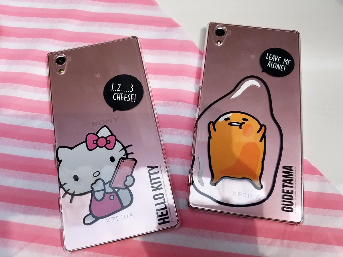 限量版禮品入面包括Hello Kitty或梳乎蛋手機套,幾靚。