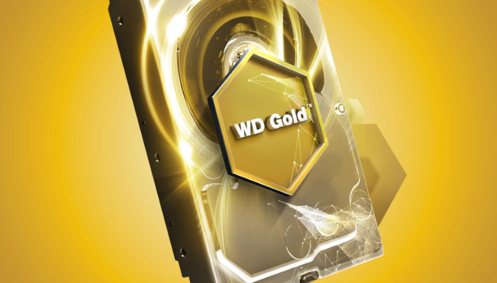硬碟都玩金色!? WD Gold 新系列玩邊科