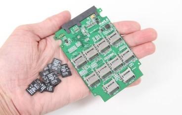 舊 microSD 復活! 十合一變身 SSD 神卡開箱