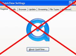【緊急!】Windows 用家緊急移除 QuickTime 保平安