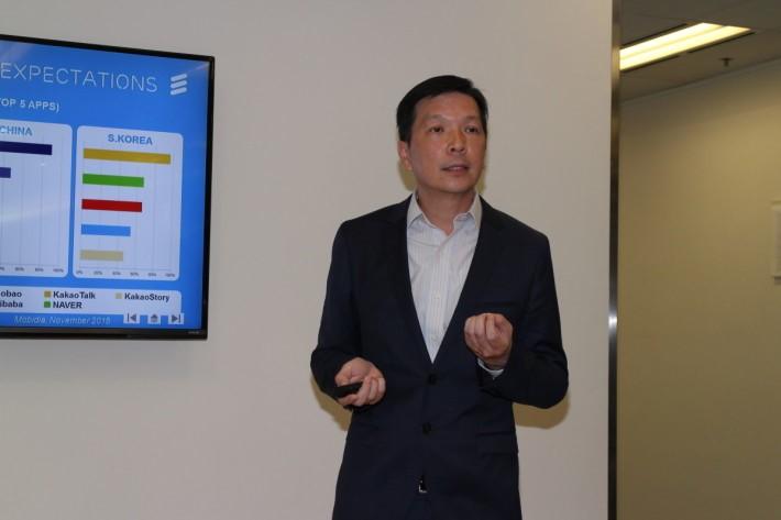 愛立信香港及澳門區科技總裁李仲明