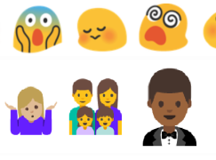 Android N 改革Emoji 「黃蟲樣」變返人樣