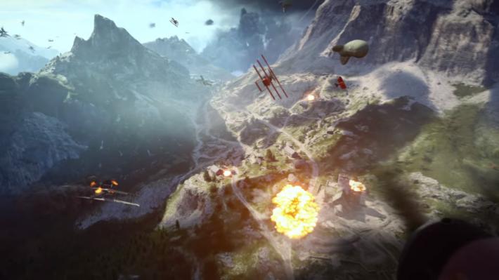 大型的空中戰鬥,相信會再次引發玩家的鬥志。