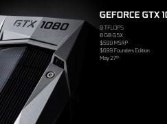 新一代卡王! GTX 1080 唔使 $5,500 快過 Titan X
