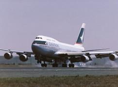 國泰747-400機隊10月退役