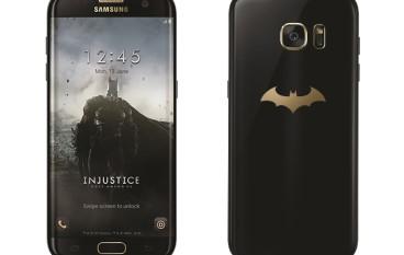 【連 Gear VR 同機殼】蝙蝠俠版 Galaxy S7 edge 六月暗黑登場