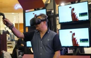 K11 藝術展 試玩 VR 藝術創作