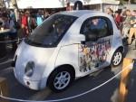 現場放出無人車,都係兩座設計,的的骰骰有點似Smart。