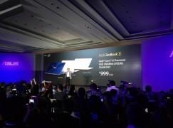 航太級超堅固機身 Asus ZenBook 3 秒殺 MacBook