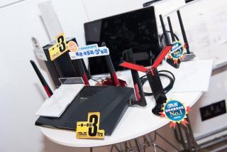 現場亦有展示多款無線路由器、Wi-Fi接收卡與RangeExtender等新品。