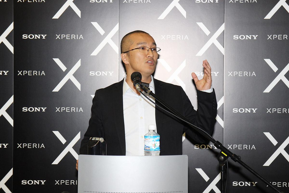 Sony Mobile產品策劃高級經理染谷洋祐稱X系列手機產品線開啟新的一章。