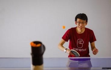挑戰2020年奧運? 乒乓球教練機械人幫到你
