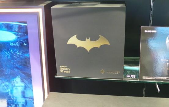【場報】S7 edge 特別版 蝙蝠俠飛唔起