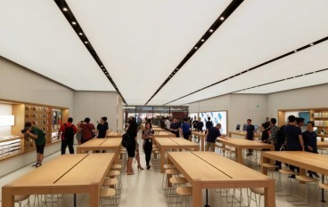 又開一間   Apple Store New Town Plaza 有新玩法
