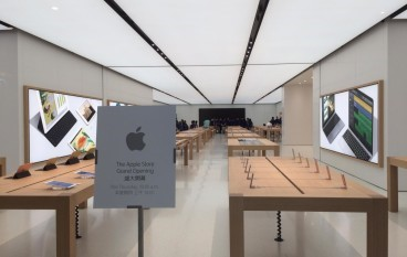沙田 Apple Store 曝光!只得一層冇玻璃屋頂?