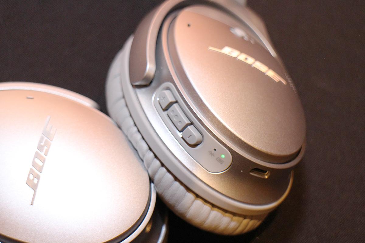 「可調消噪」( controllable noise cancellation )功能,用戶可用按鍵去掌控和調校耳機阻隔環境噪音的程度。