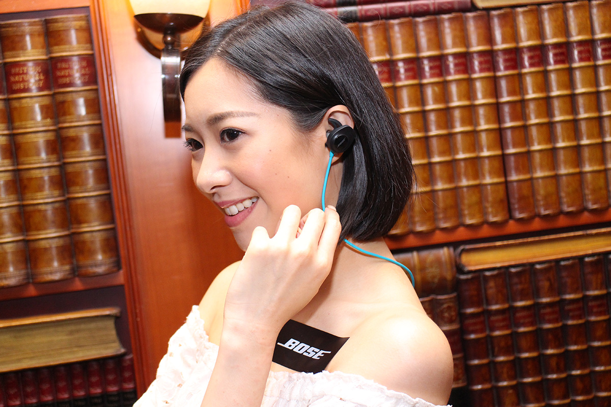 StayHear+ 耳膠配戴感舒適,亦不易在運動時弄跌耳機。