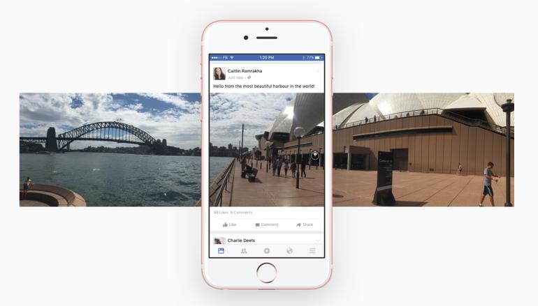 Facebook 玩 360 度相一部iPhone立刻搞掂
