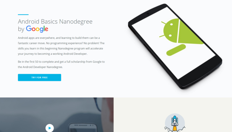 Google與Udacity 推出初學Android設計課程