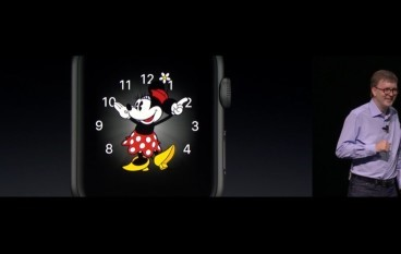【WWDC】watchOS 3.0 米妮加持 支援中文手寫輸入