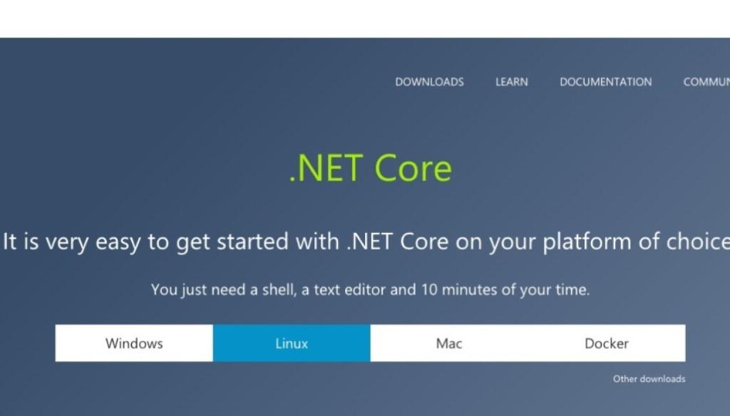 【當 Microsoft 遇上 Linux】.Net Core 推出版本 1.0