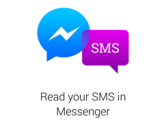 【Android 限定】Facebook Messenger 都可以 Send SMS