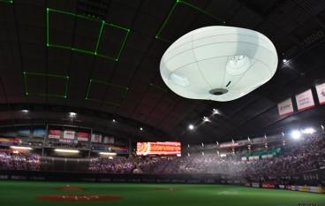 Panasonic 大型航拍飛船出航似足 UFO!