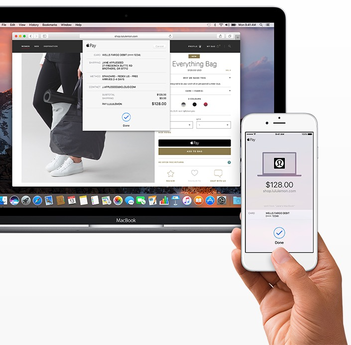 macOS ApplePay